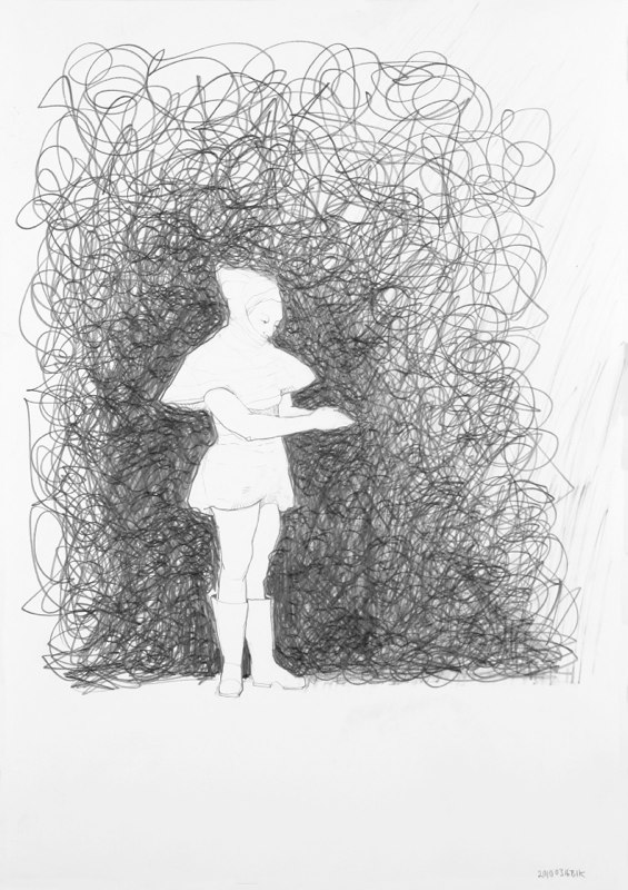 Teckning i blyerts
